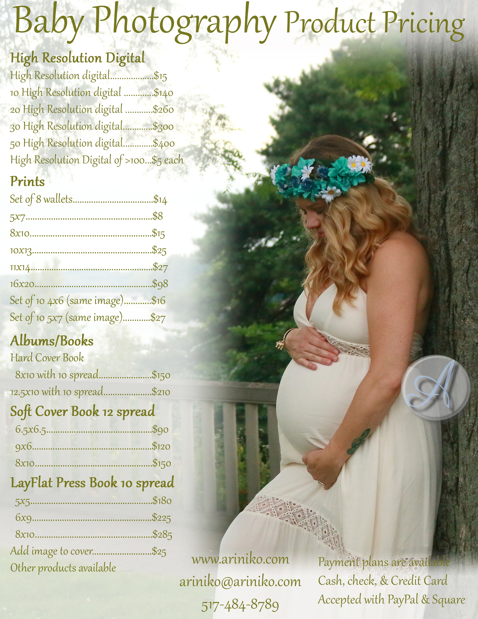 Newborn & Maternity Photography Products Guide