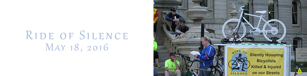 Ride of Silence Lansing Michigan 2016
