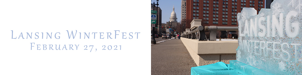 Lansing Winter Fest in Downtown Lansing, Michigan