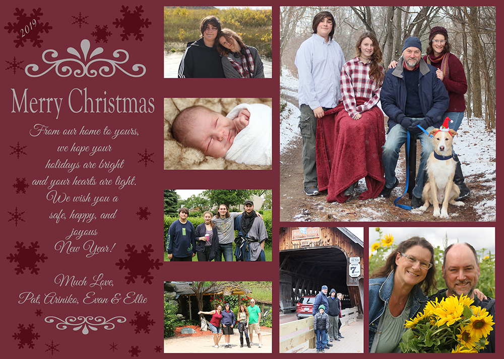 O'Meara Holiday Card